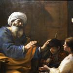 Tobi benedice il figlio Tobia - Mattia Preti (1660)