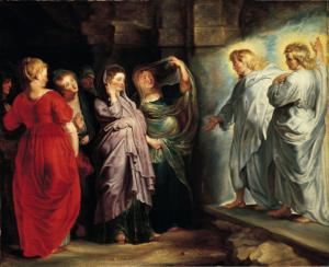Pie Donne al Sepolcro - Rubens